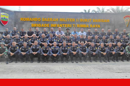 Refreshment & Training Personil Security Wilayah Cabang Sumatera