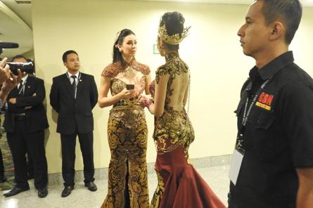 Pengamanan Puteri Indonesia 2017