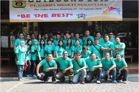 Outbound Staff Tahunan PT. Garda Bhakti Nusantara
