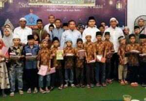 BUKBER PT. Garda Bhakti Nusantara Bersama Puluhan Anak Yatim