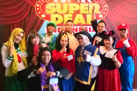 TIM GBN di acara SUPER DEAL INDONESIA - GTV