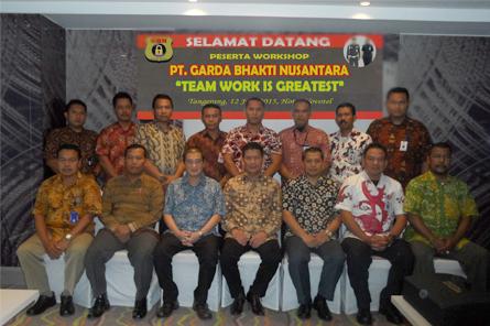 Workshop Tahunan PT. Garda Bhakti Nusantara