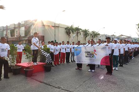 Berita Garda Bhakti Nusantara - Anniversary GBN 12Th - Quality Makes Quality - Green Walk