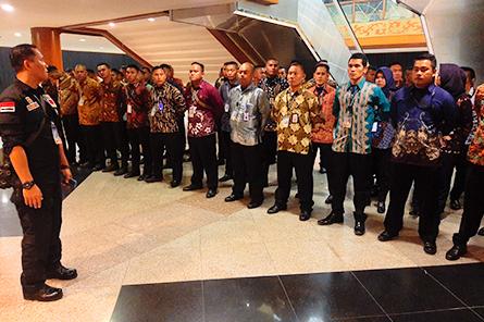 Berita Garda Bhakti Nusantara - GBN - Penjagaan Event PEMILIHAN PUTERI INDONESIA 2020