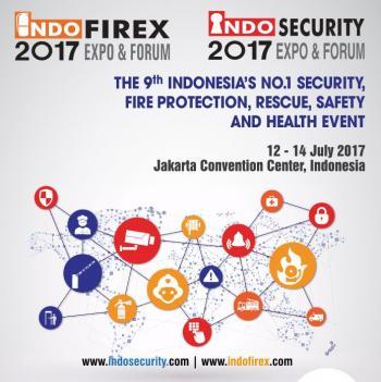 Pameran Indo Security di Jakarta Convention Center